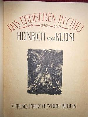 Das Erdbeben in Chili.: Kleist, Heinrich von :
