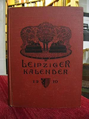 Leipziger Kalender. Illustriertes Jahrbuch u. Chronik. Hrsg.v. G. Merseburger. Jg. 7.