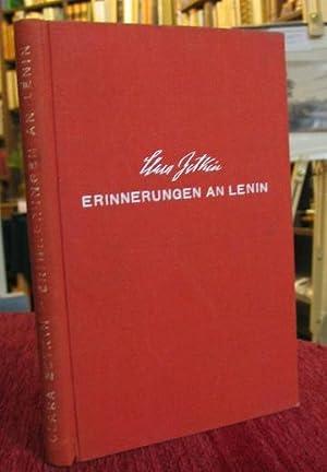 Erinnerungen an Lenin.: Zetkin, Clara: