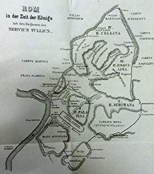 Geschichte der Stadt Rom.: Rom - Reumont, Alfred von: