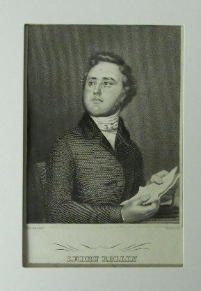 Brustbild m. Schriftstück.: Ledru,Rollin,Alexandre Auguste.