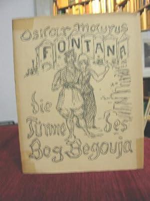 Die Türme des Beg Begouja. Roman.: Kubin A - Fontana, Oskar Maurus: