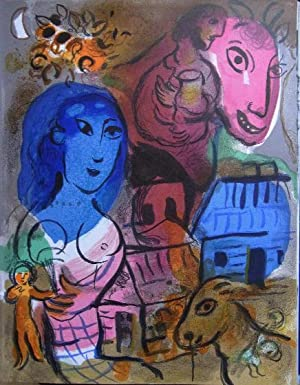 Hommage a Marc Chagall.: Chagall, M. -