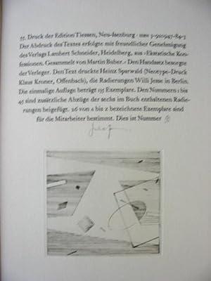 Aus den Liebesgesängen an Gott. Übertragen v. Martin Buber.: Farrer,J. - Symeon der ...