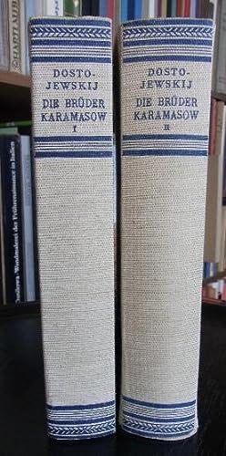 Die Brüder Karamasow. Roman. Dt.v. Reinhold von Walter.: Dostojewskij, Fjodor M.: