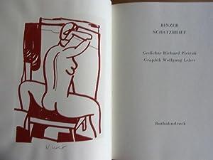Binzer Schatzbrief. Gedichte.: Leber,W. - Pietraß, Richard:
