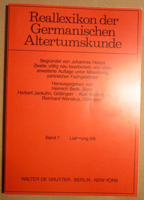 Reallexikon der Germanischen Altertumskunde (Band 7; Lieferung: Hoops, Johannes (begründet