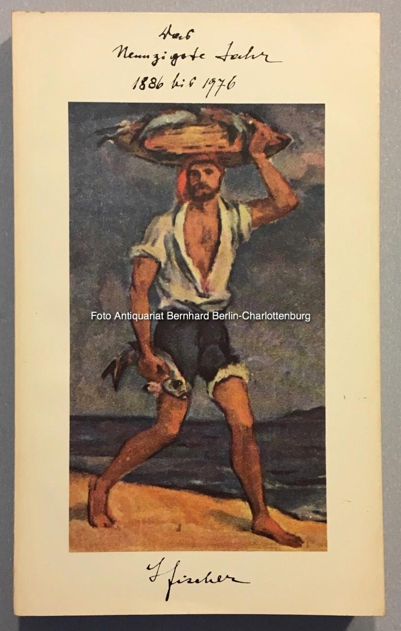 Das neunzigste Jahr 1886-1976. Ein Rechenschaftsbericht in: Fischer, Gottfried; Brigitte