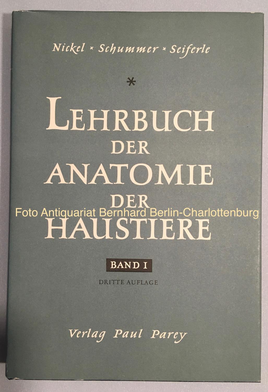 lehrbuch der anatomie der von nickel - ZVAB