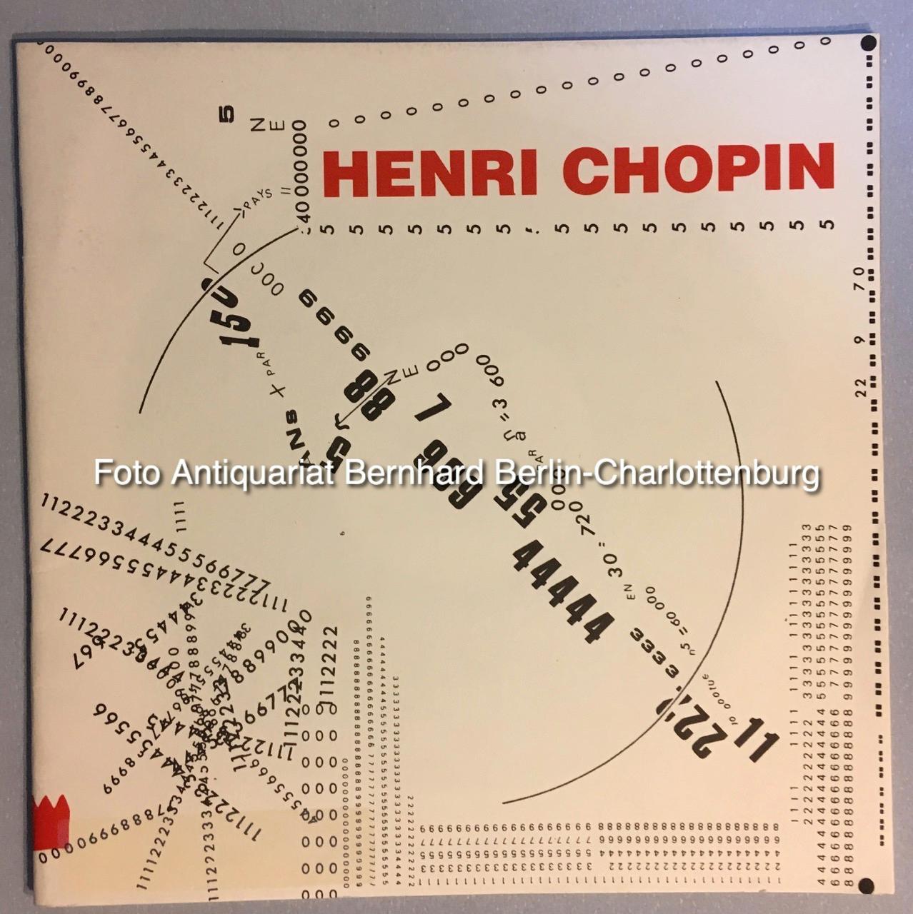 Henri Chopin Revue Ou Collection Zeitschrift