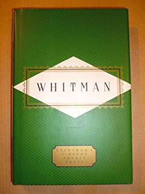 Whitman. Poems (Everyman's Library Pocket Poets)