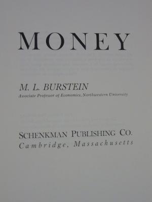 Money: Burstein, M. L.