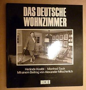 Das Deutsche Wohnzimmer Von Koelbl Herlinde Manfred Sack Texte