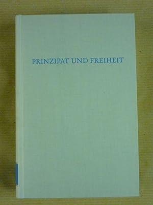 Prinzipat und Freiheit (Wege der Forschung Band: Klein, Richard (Hrsg.)