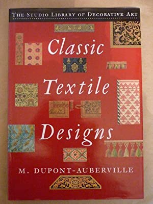 Classic textile designs. Fifty plates, in gold, silver and colours comprising upwards of 1.000 va...