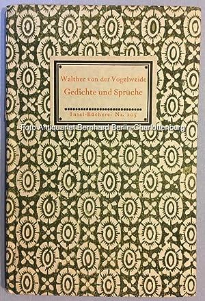 Walther Vogelweide Gedichte Zvab