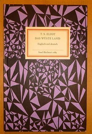 Das wüste Land. Englisch und deutsch (Insel-Bücherei: Eliot, T. S.