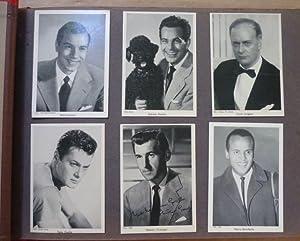 Album mit Porträtfotos von Filmstars der 1950er: s. n.; verschiedene