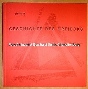 Jan Kotik. Geschichte des Dreiecks. 52 Zeichnungen,: Kotik, Jan; Prinz,