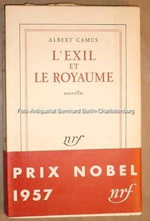 L'Exil et le Royaume. Nouvelles (nrf; La: Camus, Albert