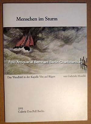 Menschen im Sturm. Das Wandbild in der: Mucchi, Gabriele