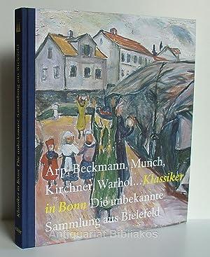 Arp, Beckmann, Munch, Kirchner, Warhol. Klassiker in: Herausgeber und Vorwort: