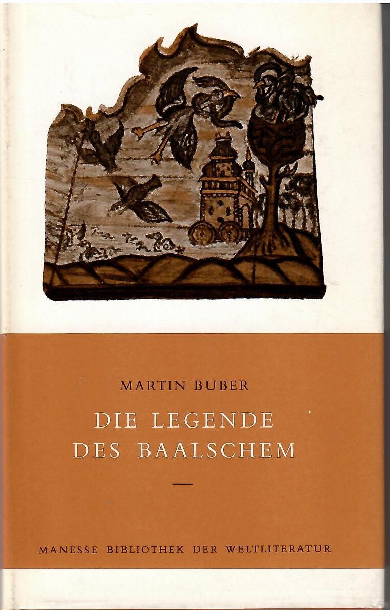die legende des baalschem von martin buber, Erstausgabe - ZVAB