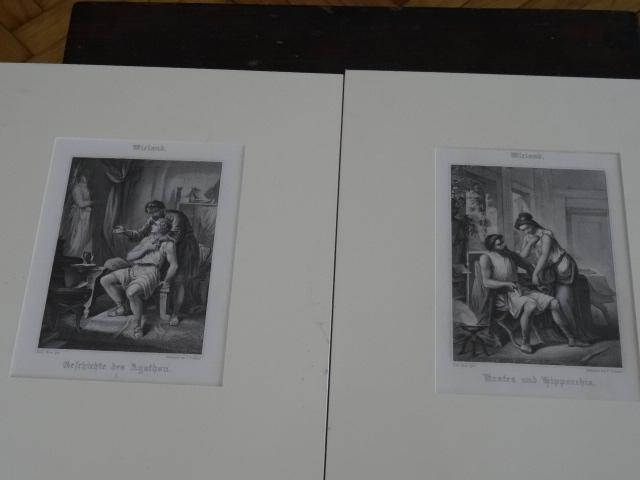 1,Geschichte des Agathon. 2,Krates und Hipparchia.: Wieland: