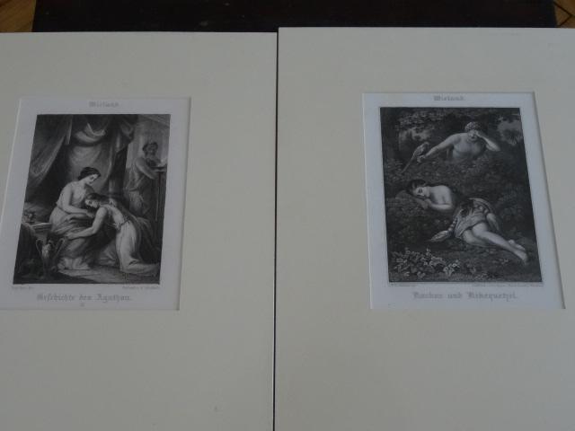 1,Geschichte des Agathon, 2,Koxkox und Kikequtzel .: Wieland:
