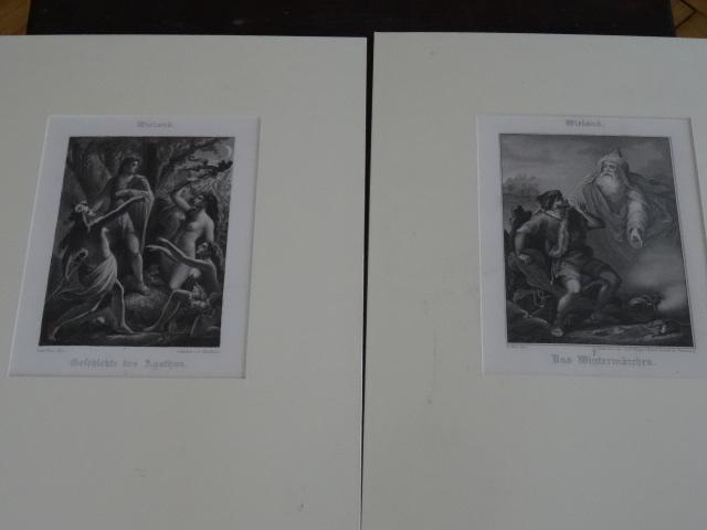 1,Geschichte des Agathon, 2,Das Wintermärchen.: Wieland: