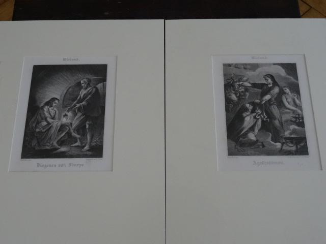 1,Agathodämon 2,Diogenes von Sinope.: Wieland: