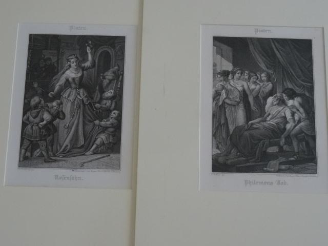 1, Philemons Tod, 2, Rosensohn.: Platen: