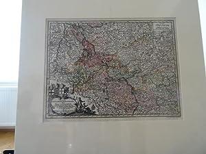 RHEINLAND-PFALZ. - Karte. Synopsis Circuli Rhenani Inferioris: T.C. Lotter bei
