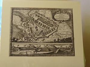 Haffniam Castra Suedica ad Haffniam . Antique: Samuel von Dahlberg