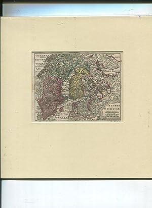 Regnum Sueciae. Landkarte.: Tobias Lobeck und