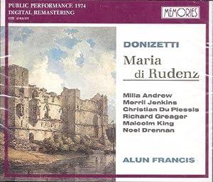 Donizetti - Maria di Rudenz Box: Andrew, Jenkins und