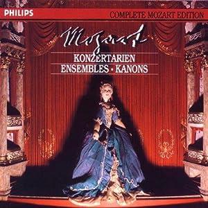 Die vollständige Mozart-Edition Vol. 23 (Konzertarien, Ensembles,: B?Hm, Davies und
