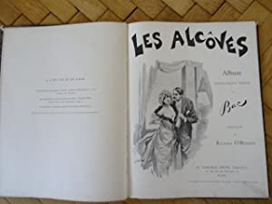 Les Alcoves. Album absolument inédit. Préface Richard O'Monroy mit 22 Farbtafeln inkl, Umschlag.