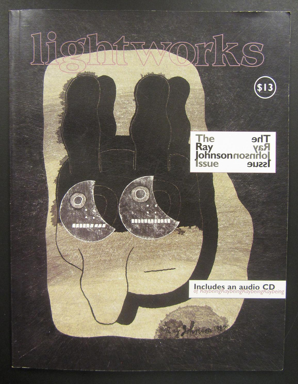 light works. The Ray johnson Issue Johnson, Ray Good Softcover