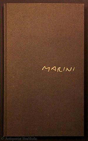 Gedichte von Egle Marini mit Zeichnungen von: Marini, Marino
