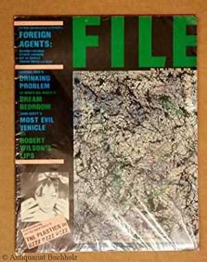 File magazine. Foreign Agents Vol. 4, No. 4, Fall 1980