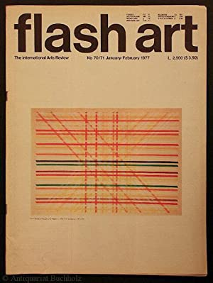 flash art. International Review of Arts. No 70/71 January-February 1977