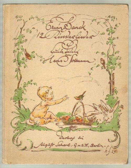 12 Kinderlieder. Text und Musik von Erwin: Banck, Erwin und