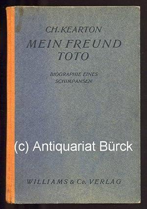 Mein Freund Toto. Biographie eines Schimpansen. Mit: Kearton, Cherry