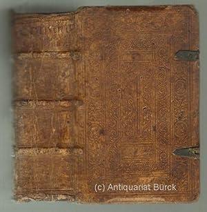 Epistolarum familiarium M.T. Ciceronis Libri XVI. Ex: Cicero, Marcus Tullius