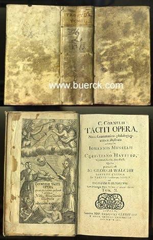 C. Cornelii Taciti opera, Notis Grammatico-philologico criticis: Tacitus, Publius Cornelius