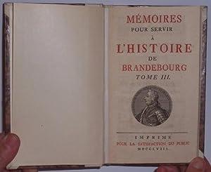 Mémoires pour servir à l'histoire de la: Friedrich II. (anonym)