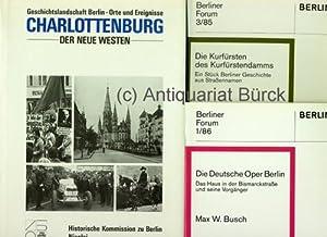 Geschichtslandschaft Berlin - Orte und Ereignisse. Charlottenburg,: Engel, Helmut; Stefi