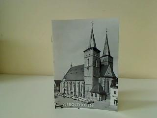 Gerolzhofen. Kunstführer ; Nr. 225: Ott, Anton: