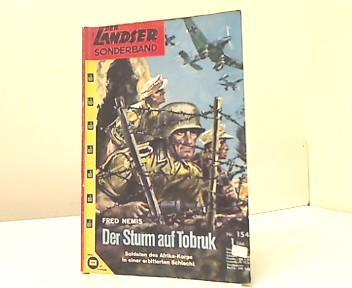 Der Sturm auf Tobruk. Der Landser -: Nemis, Fred:
